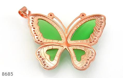 مدال چشم گربه طرح پروانه درشت زنانه - تصویر 2
