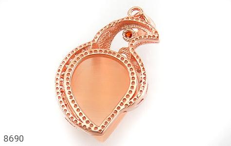 مدال چشم گربه طرح زینتی زنانه - تصویر 2