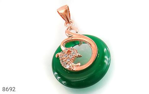 مدال چشم گربه طرح زیبا زنانه - عکس 1