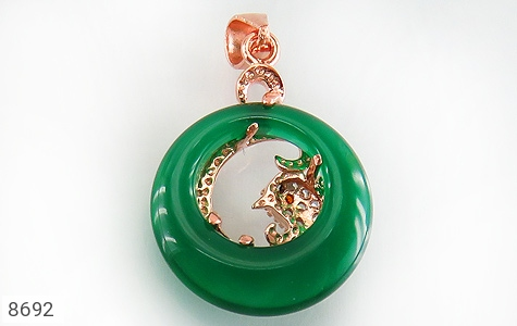 مدال چشم گربه طرح زیبا زنانه - تصویر 2