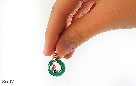 مدال چشم گربه طرح زیبا زنانه - تصویر 4