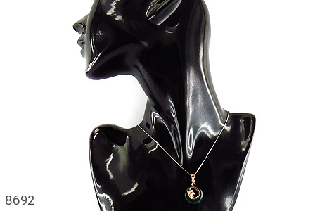 مدال چشم گربه طرح زیبا زنانه - عکس 5