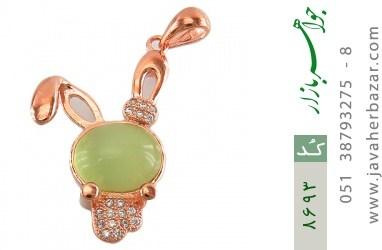 مدال چشم گربه طرح خرگوش فانتزی زنانه - کد 8693