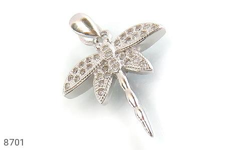 مدال نقره سنجاقک زینتی زنانه - عکس 1