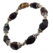 دستبند عقیق سلیمانی تراش ممتاز زنانه