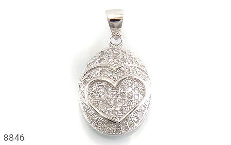 سرویس نقره درخشان طرح قلب زنانه - عکس 3