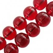 تسبیح سندلوس آلمانی درشت قرمز خوش رنگ