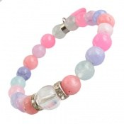 دستبند جید رنگین کمانی زنانه