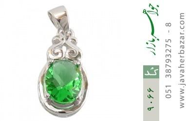 مدال نقره مجلسی طرح شاهدخت زنانه - کد 9066
