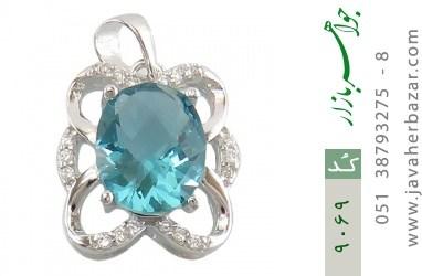 مدال نقره مجلسی طرح باشکوه زنانه - کد 9069