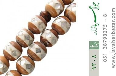 تسبیح کوک (کشکول) 101 دانه مرصع کاری - کد 9308