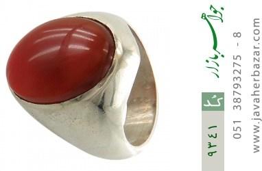 انگشتر عقیق یمن هنر دست استاد رحمانی - کد 9341