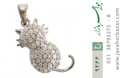 مدال نقره درخشان طرح فانتزی زنانه - کد 9366