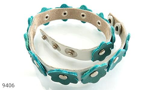 دستبند چرم دست ساز - تصویر 2