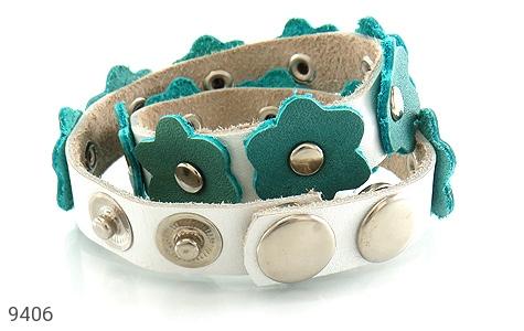 دستبند چرم دست ساز - عکس 3