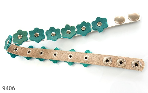 دستبند چرم دست ساز - تصویر 4