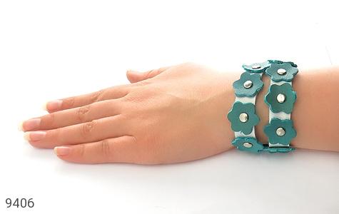 دستبند چرم دست ساز - عکس 5