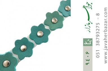 دستبند چرم دست ساز - کد 9406