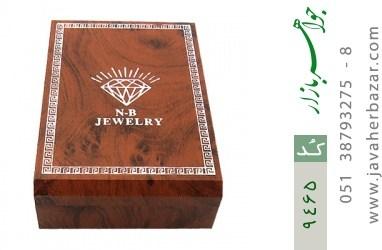 جعبه جواهر چوبی بزرگ - کد 9465