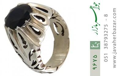 انگشتر یاقوت آفریقایی رکاب دست ساز - کد 9675