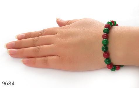 دستبند جید دو رنگ زنانه - تصویر 6