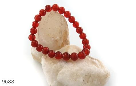 دستبند عقیق زیبا و خوش رنگ زنانه - تصویر 4