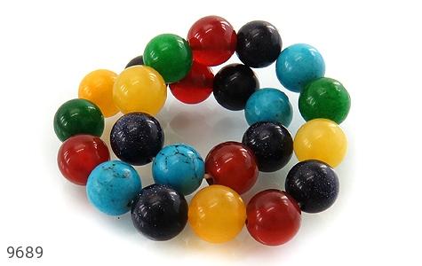دستبند دلربا و عقیق و جید رنگارنگ زنانه - عکس 3