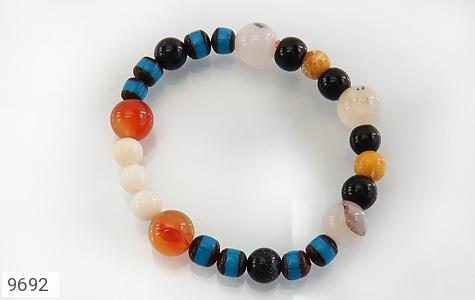 دستبند چندنگین سنگ درمانی زنانه - تصویر 2