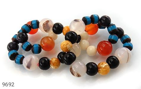 دستبند چندنگین سنگ درمانی زنانه - عکس 3