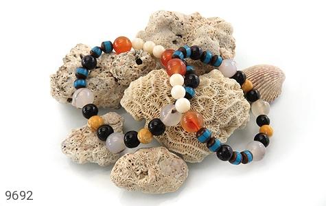 دستبند چندنگین سنگ درمانی زنانه - تصویر 4
