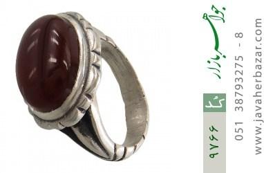 انگشتر عقیق یمن - کد 9766