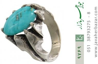 انگشتر فیروزه نیشابوری - کد 9769