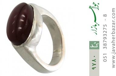 انگشتر عقیق یمن رکاب دست ساز - کد 9780