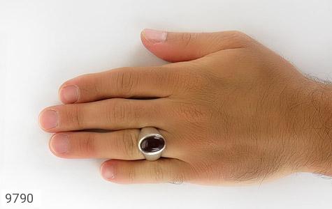 انگشتر عقیق یمن هنر دست استاد رحمانی - عکس 7