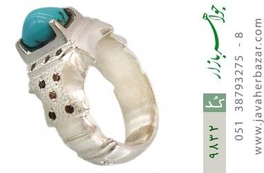 انگشتر فیروزه نیشابوری هنر دست استاد جراح - کد 9832