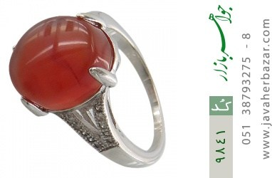 انگشتر عقیق یمن - کد 9841