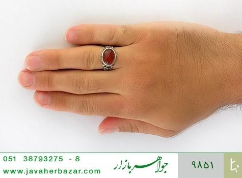 انگشتر عقیق صفوی مردانه - عکس 7