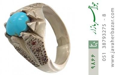 انگشتر فیروزه نیشابوری هنر دست استاد جراح - کد 9866