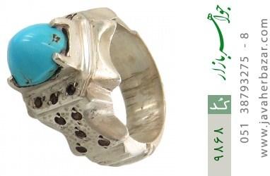 انگشتر فیروزه نیشابوری هنر دست استاد جراح - کد 9868