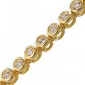 دستبند نقره طرح جمیل آسانسوری زنانه
