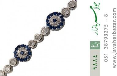 دستبند نقره طرح بهار آسانسوری زنانه - کد 9884