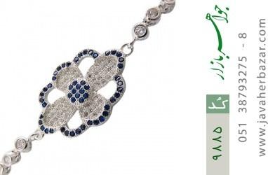 دستبند نقره طرح مجلسی آسانسوری زنانه - کد 9885