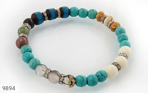 دستبند چندنگین طرح نازگل زنانه - عکس 1