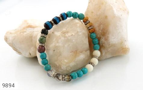 دستبند چندنگین طرح نازگل زنانه - عکس 3