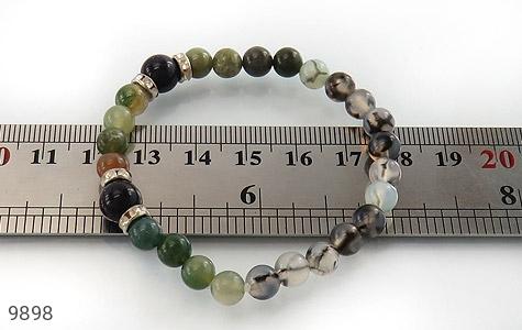 دستبند عقیق و جاسپر و دلربا زنانه - تصویر 4