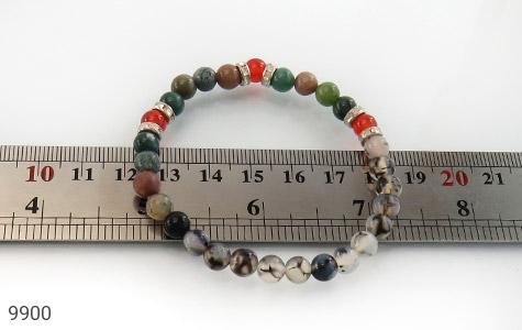 دستبند عقیق و جاسپر جذاب زنانه - تصویر 4