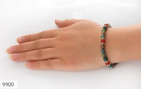 دستبند عقیق و جاسپر جذاب زنانه - عکس 5