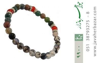 دستبند عقیق و جاسپر جذاب زنانه - کد 9900