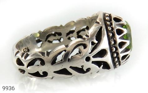 انگشتر زبرجد خوش رنگ مرغوب مردانه - عکس 3