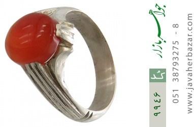 انگشتر عقیق یمن رکاب دست ساز - کد 9946
